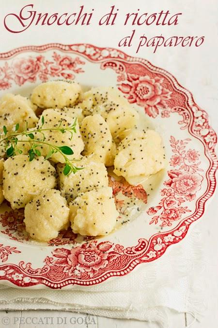 cucina e ricette-gnocchi alla ricotta al papavero
