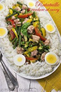 cucina e ricette-Ratatouille di verdure al curry
