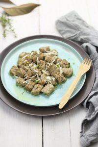 Ricette del territorio-Gnocchi di funghi al forno con ricotta affumicata