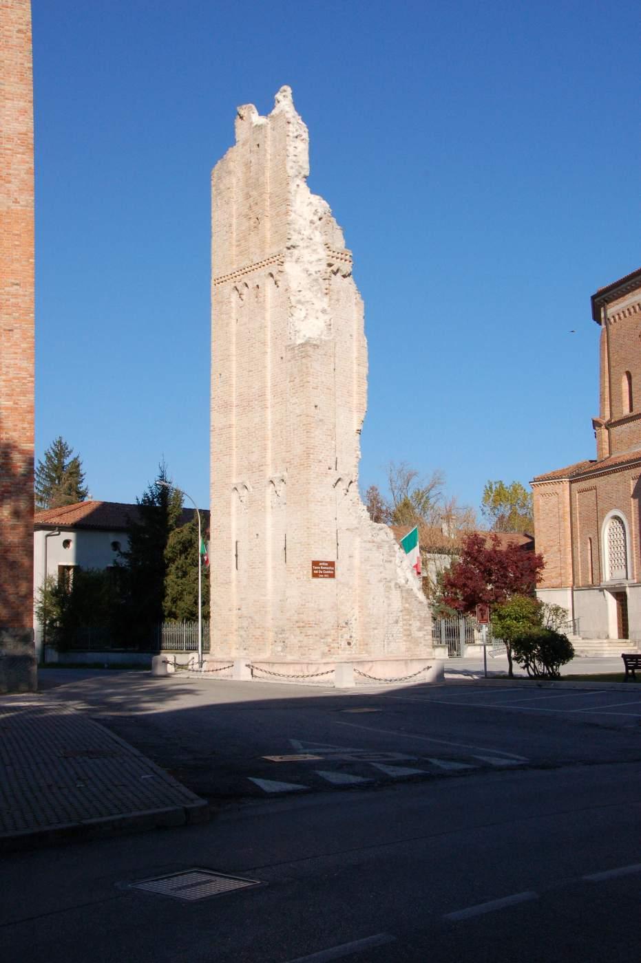 Moriago della Battaglia-Antica Torre Da Camino