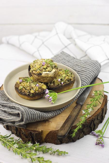 Cucina e ricette-funghi al forno