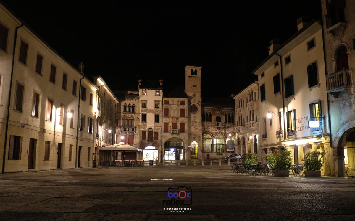 Vittorio Veneto-panoramica notturna