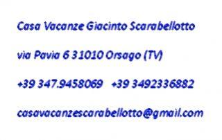 Orsago-Casa Vacanze Giacinto Scarabellotto