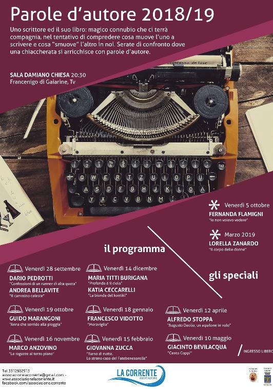 Gaiarine-Parole d'autore