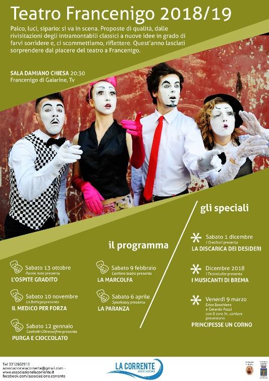 Gaiarine-stagione teatrale