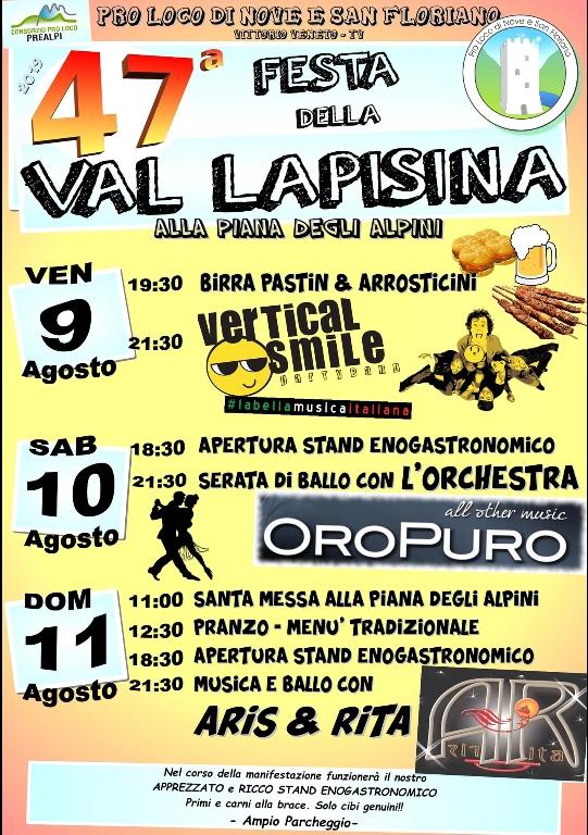 Vittorio Veneto-47 Festa della Val Lapisina