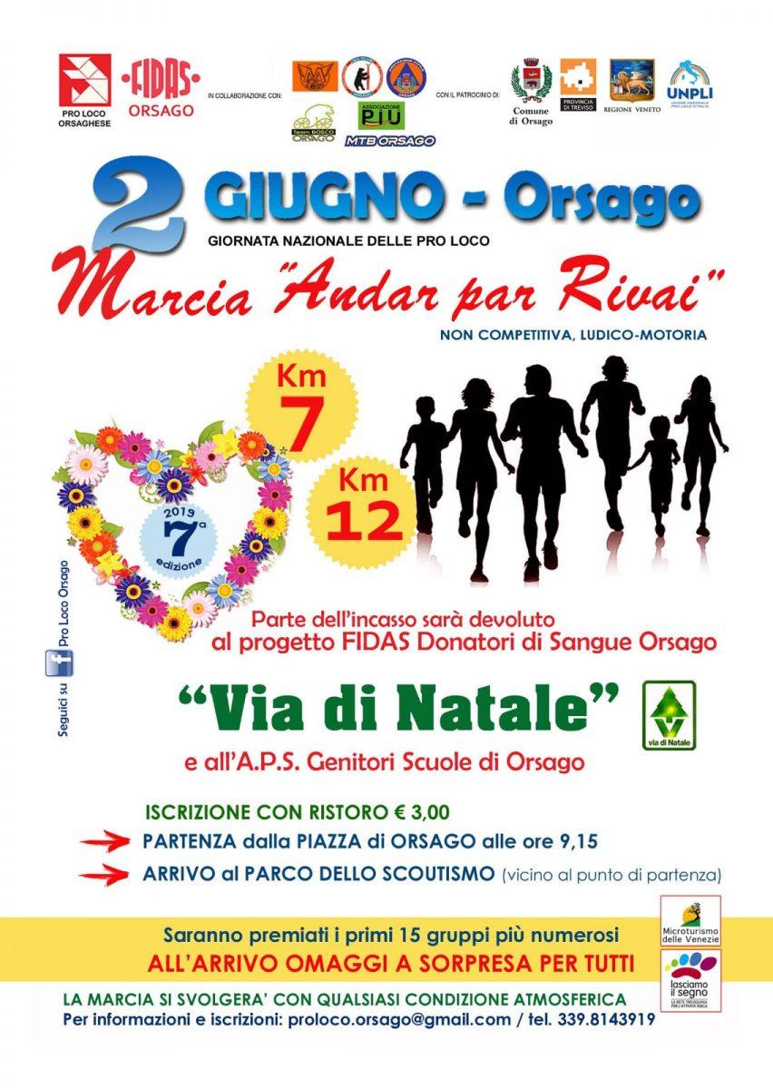 Orsago-Marcia Andar par Rivai