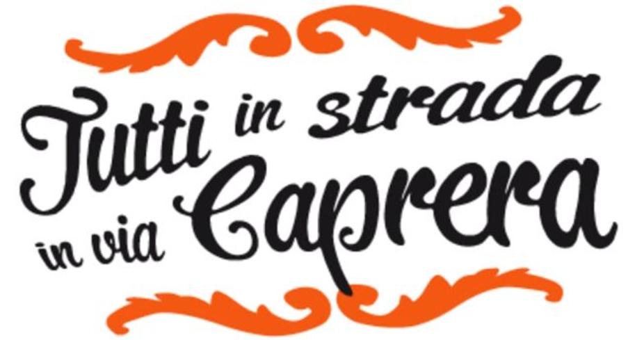 Vittorio Veneto-Tutti in strada in via Caprera