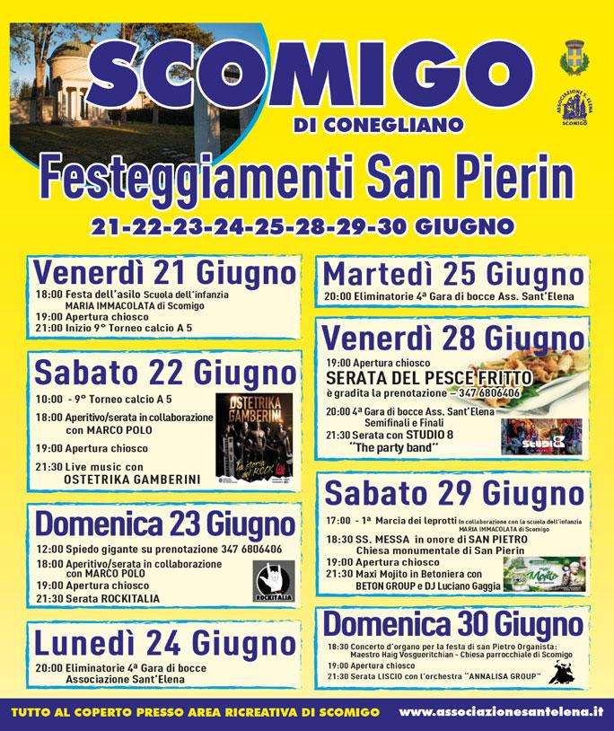 Conegliano-Festeggiamenti San Pierin