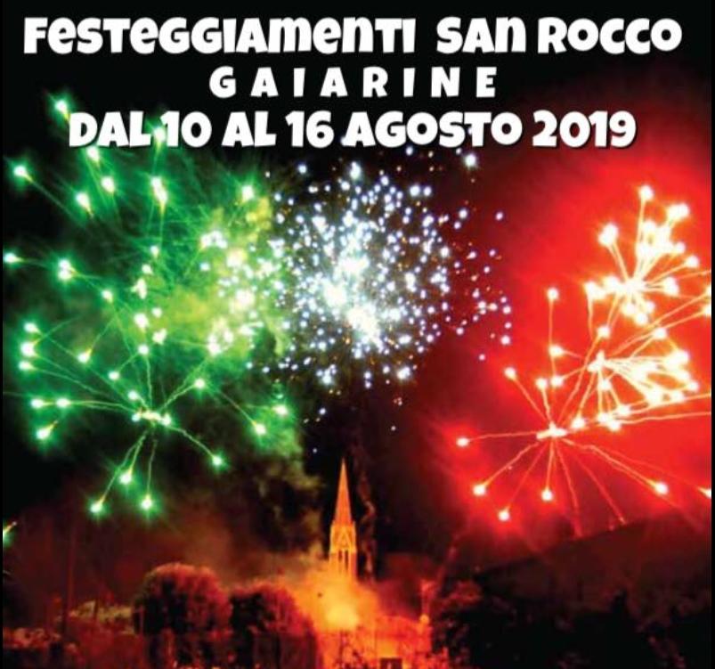 Gaiarine-Festeggiamenti San Rocco Gaiarine
