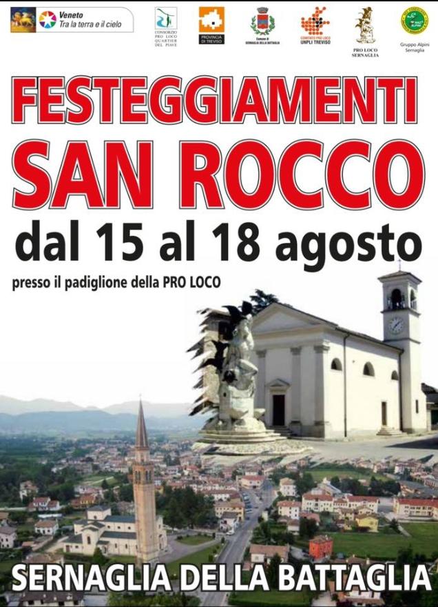 Sernaglia della Battaglia-Festeggiamenti San Rocco