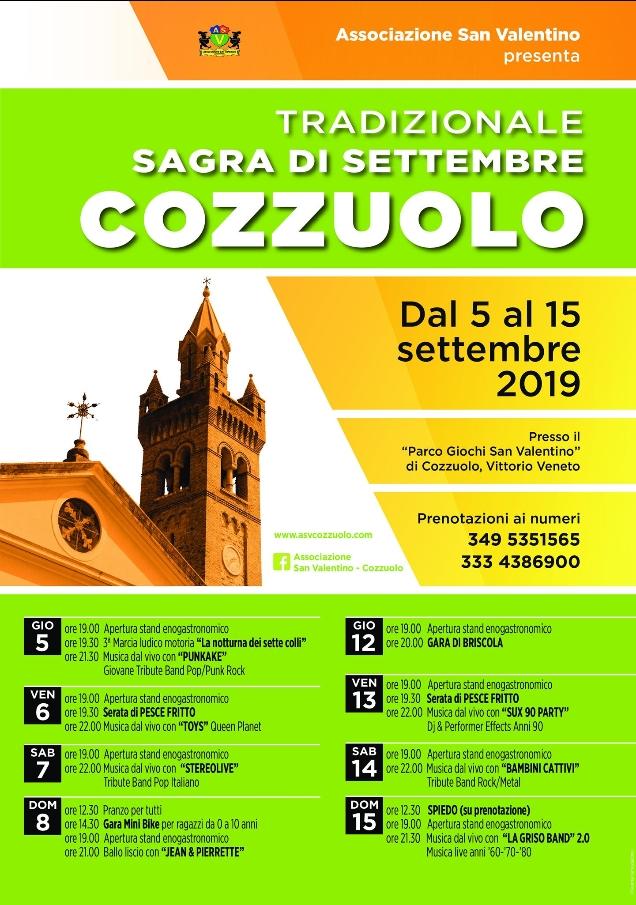 Vittorio Veneto-Sagra Cozzuolo