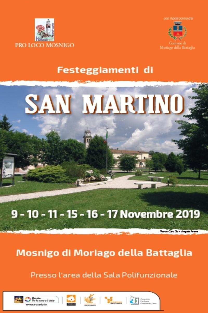 Moriago della Battaglia-Festeggiamenti di San Martino a Mosnigo