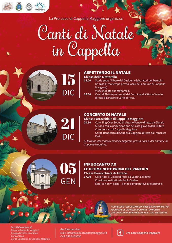 Cappella Maggiore-Canti di Natale a Cappella