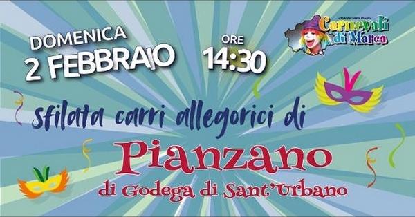 Godega Sant'Urbano-Sfilata carri allegorici a Pianzano