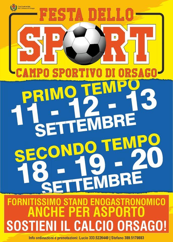 Orsago-Festa dello Sport 2020
