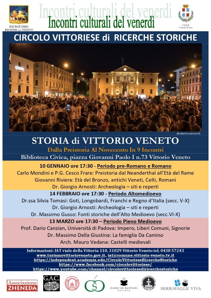Vittorio Veneto-incontri culturali del venerdì