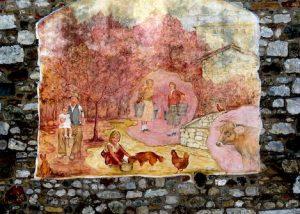 Tarzo-via dei murales
