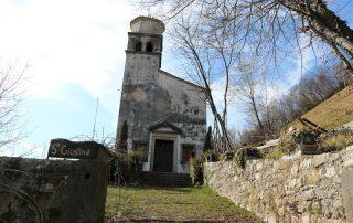 Cison di Valmarino-chiesa Santa Giustina