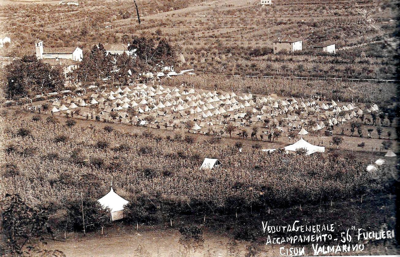 Cison di Valmarino-Cison di Valmarino nella Prima Guerra Mondiale