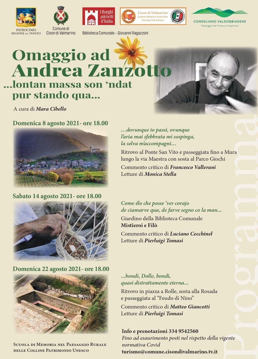 Cison di Valmarino-Omaggio a Andrea Zanzotto