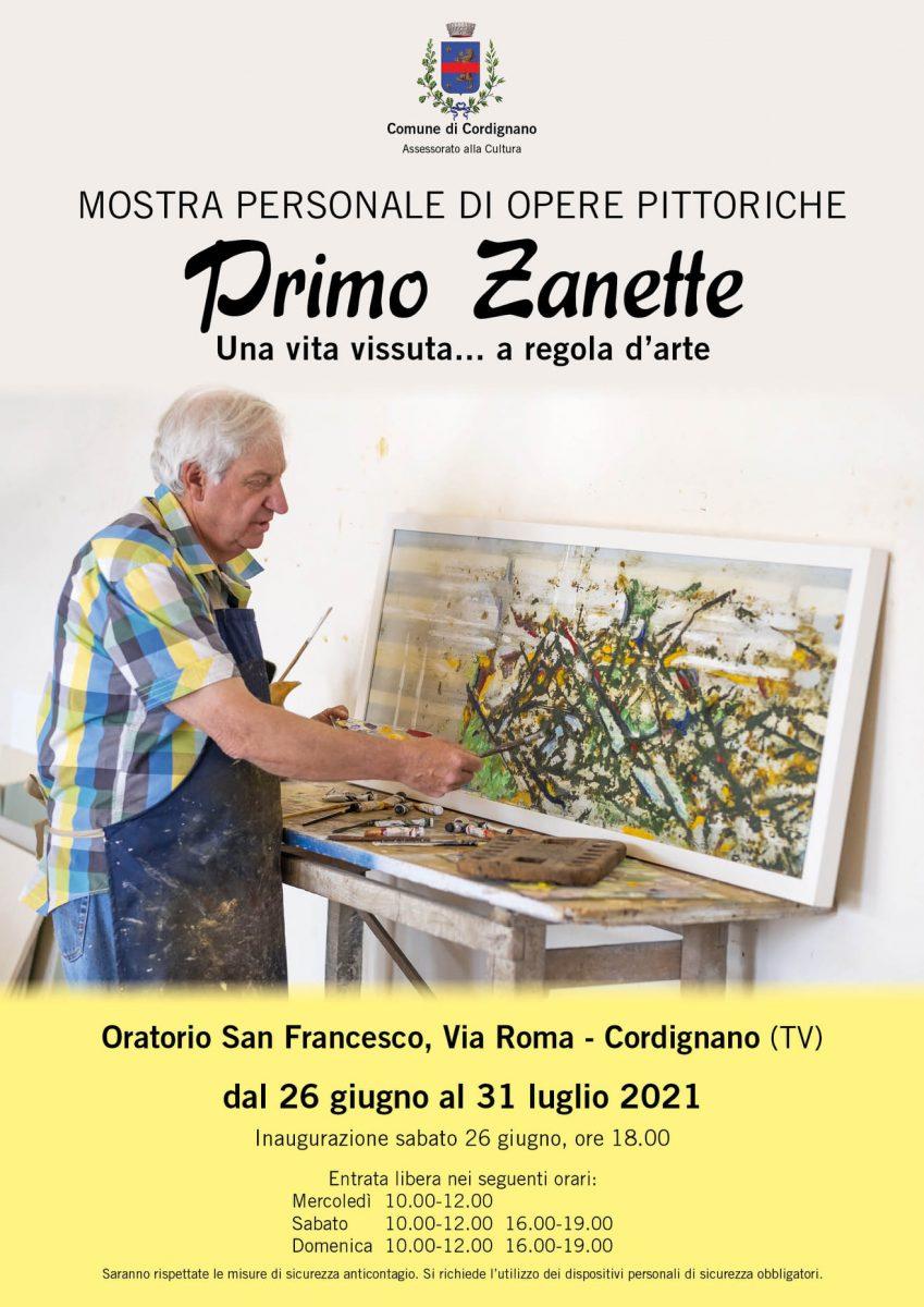 Cordignano-Mostra Primo Zanette