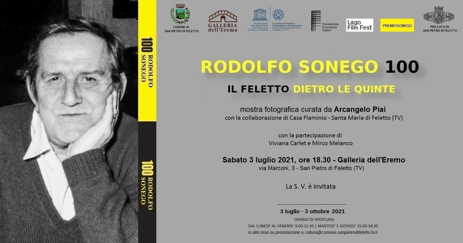 San Pietro di Feletto-Rodolfo Sonego 100 il Feletto dietro le quinte