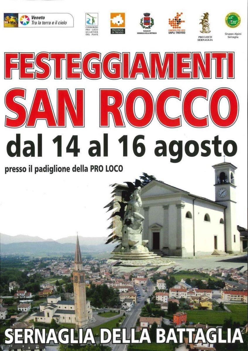 Sernaglia della Battaglia-Festeggiamenti San Rocco 2021