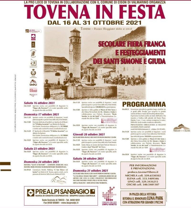 Cison di Valmarino-Tovena in Festa